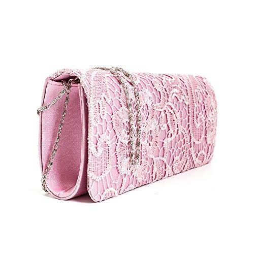 Tedim - Cartera de mano para mujer Varios Colores multicolor Rosa - rosa
