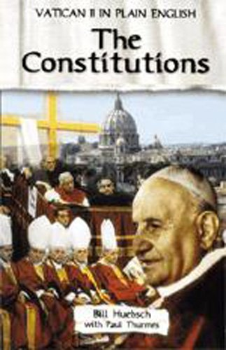 Constitutions (Revised) (Revised) (Vatican II in Plain English) (Sacred 2 Best Class)