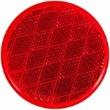 Blazer B38SR Red Round Stick-On Reflector