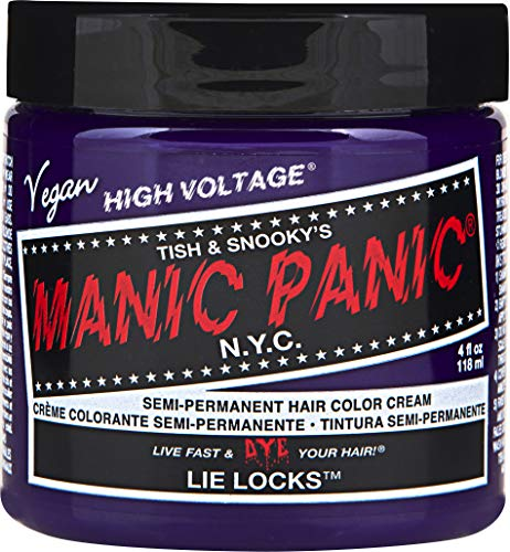 (Manic Panic Lie Locks Indigo Blue Hair Dye Color)
