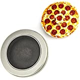Lux Accessories Pizza Pie Decal Trendy Kids Adult Toy Circle Fidget Spinner