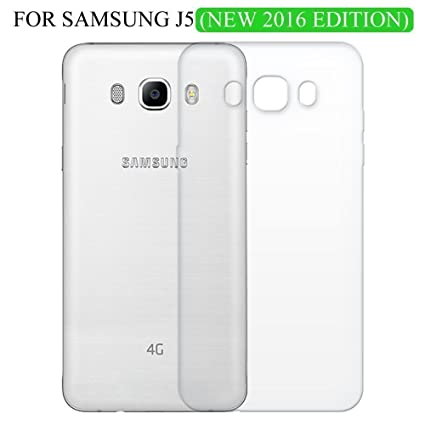 super popular 7965f 2aea7 Shop Buzz Transparent Back Cover For Samsung Galaxy J5 2016 Edition 5.2  Inches Screen - TPU Silicon Back for Sam J5 (2016) / J5-6