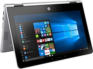 HP Pavilion x360, Premium 2019 Flagship 11.6 inch HD IPS Touchscreen 2 in 1 Laptop, Intel Quad-Core Pentium Silver N5000, 4GB DDR4, 128GB SSD, HD Webcam Bluetooth 4.2 802.11ac USB 3.1 HDMI Win 10