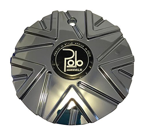 Polo Wheels PL1-1A Chrome Wheel Center Cap