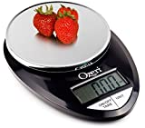 Ozeri Pro Digital Kitchen Food Scale, 1g to 12 lbs Capacity, in Stylish Bla ....