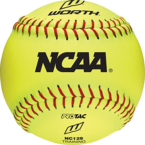 Worth NC12S 12-Inch Protac NCAA Indoor/Outdoor Training Ball- One Dozen