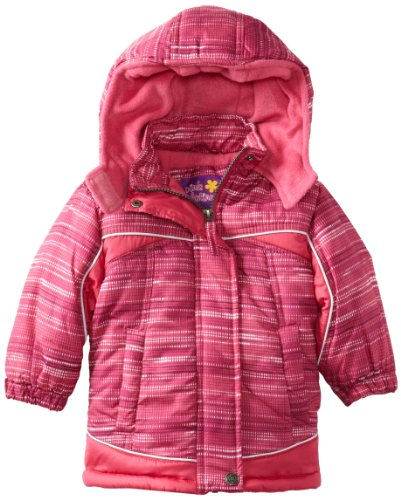 d73cd34730ad29 Pink Platinum Baby-Girls Infant Space Puffer