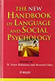 The New Handbook of Language and Social Psychology 9780471490968