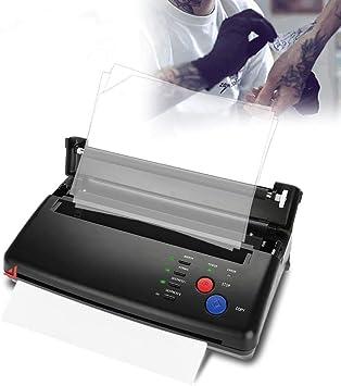 Filfeel Impresora térmica de transferencia de tatuaje y copiadora ...