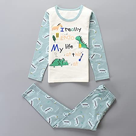 56d4bbef2 MH-RITA Baby Boys Pajamas Sets Cartoon Striped Clothing Sets For Girls Night  Outfits Spring Autumn Winter Sleep Clothes 3 5 7 9 11 13 15