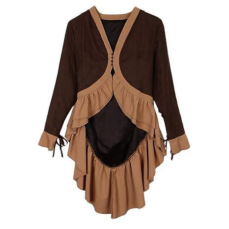 B Baosity Vestido Steampunk Gótico Victoriano Vintage Trajes ...