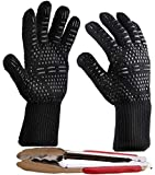 Best Insulated Barbecue And Food Gloves - Peckay Best BBQ Cooking Glove Extreme Heat Resistant Review