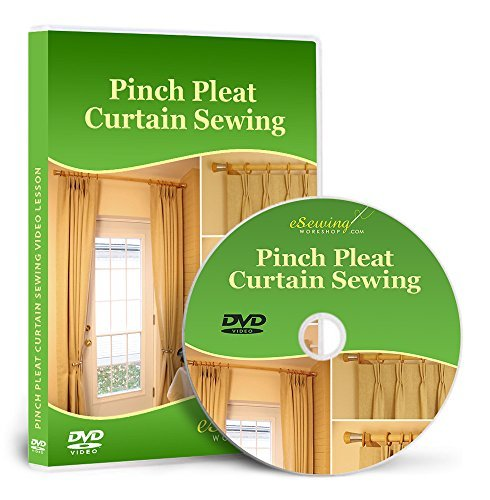 (Pinch Pleat Curtain Sewing - Video Lesson on DVD)