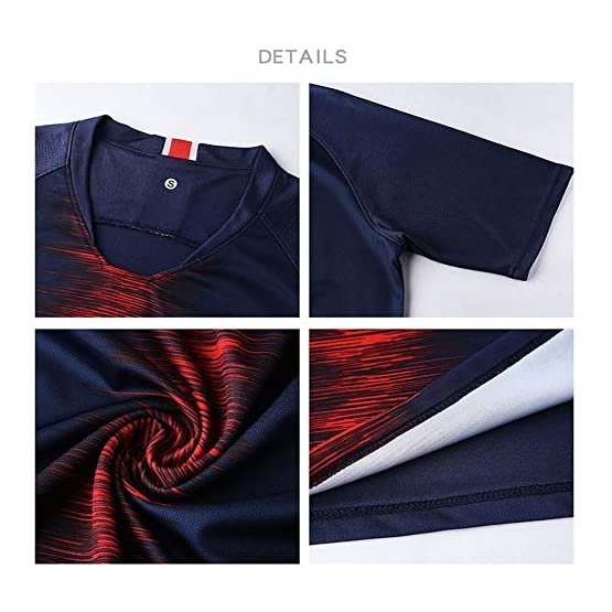 Uniforme de Football - Maillot Neymar 10# de Paris Saint-Germain Club, Maillot d'entraînement de Football et t-Shirt