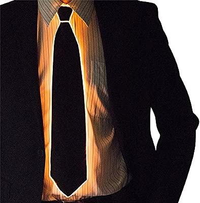 Motto.H Corbata de LED 10 Colores Light Up Tie LED Glow Dark ...