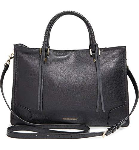 451b0dc27e Rebecca Minkoff Regan Satchel Tote Shoulder Bag, Black, One Size