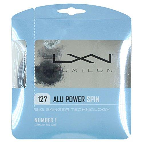 Luxilion ALU Power 125 Tennis Racquet String Set 16L Gauge, 1.25 mm