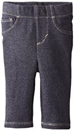 Levi's Baby Girls' Essential Knit Legging, Indigo, 6/9 Months