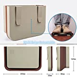Multi Beige Retractable New Car Seat Back Trash Bin Multifunction Garbage Can