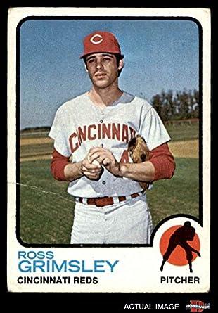 Amazoncom 1973 Topps 357 Ross Grimsley Cincinnati Reds Baseball