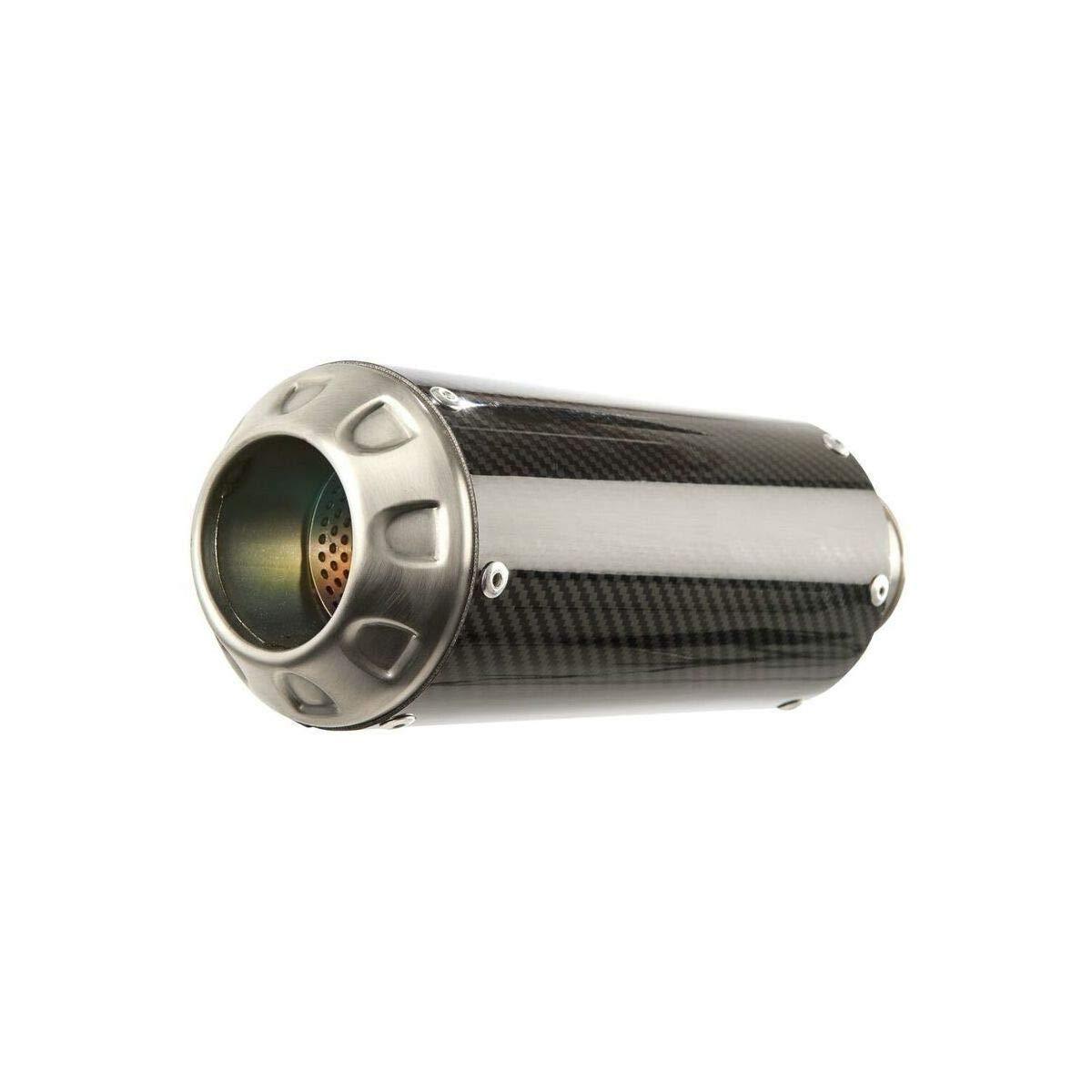 Carbon Fiber with Stainless End Cap Hotbodies Racing 17-18 Suzuki SV650 MGP Growler Slip-On Exhaust