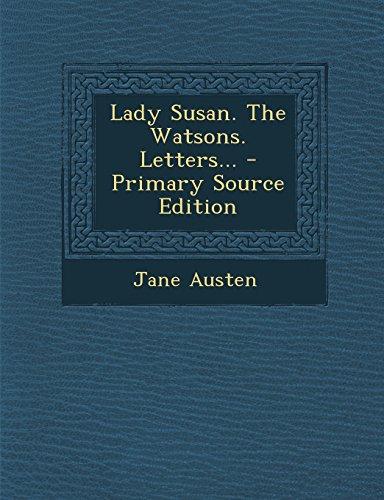 Jane the austen pdf watsons