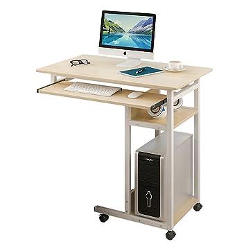 yxlab mesa auxiliar Salute Laptop mesa con 4 ruedas con ...