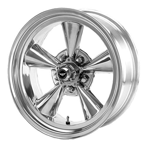 American Racing Hot Rod TTO VN109 Polished Wheel (17x8