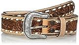 Nocona Men's Cheyenne USA Natural Belt, Brown, 34