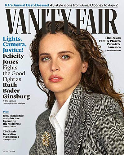 (Vanity Fair Magazine (October, 2018) Felicity Jones)