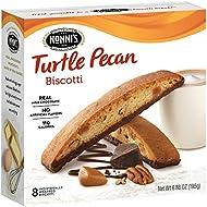 Nonni's Biscotti, Turtle Pecan, 8 Count, 6.88 Ounce