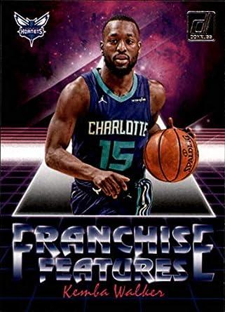 1da96b67f56 2018-19 Donruss Franchise Features #4 Kemba Walker Charlotte Hornets NBA  Basketball Trading Card