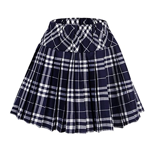 Blue Plaid Skirts Amazon.com