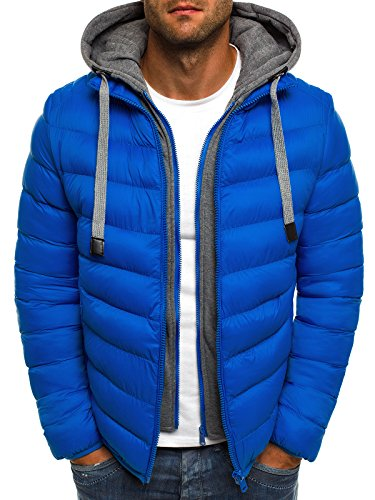 10 Style Ku Jacket Jacket Men's Js 514k Jacket 514k Blue J Jacket Sweater OZONEE 10 Quilted Quilted Warm waxfqvvHT