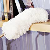 TattyaKoushi Microfiber Hand Duster with 14''-34'' Telescoping Extension Pole, 360 Electrostatic Feather Duster Appliances - Ceiling Fans, Shutters, Cars, Blinds-Flexible, Bendable, Washable, Lint Free