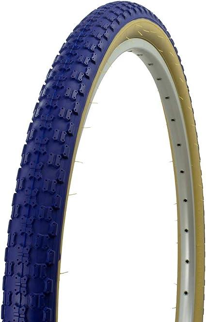 """2 Tires 2 Tubes 26/"""" x 1.95 Street Tread BMX Mountain Bikes Bicycle White"""