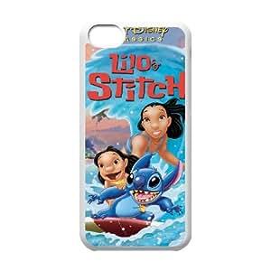 Lilo & Stitch iPhone 5c Cell Phone Case White A9547119