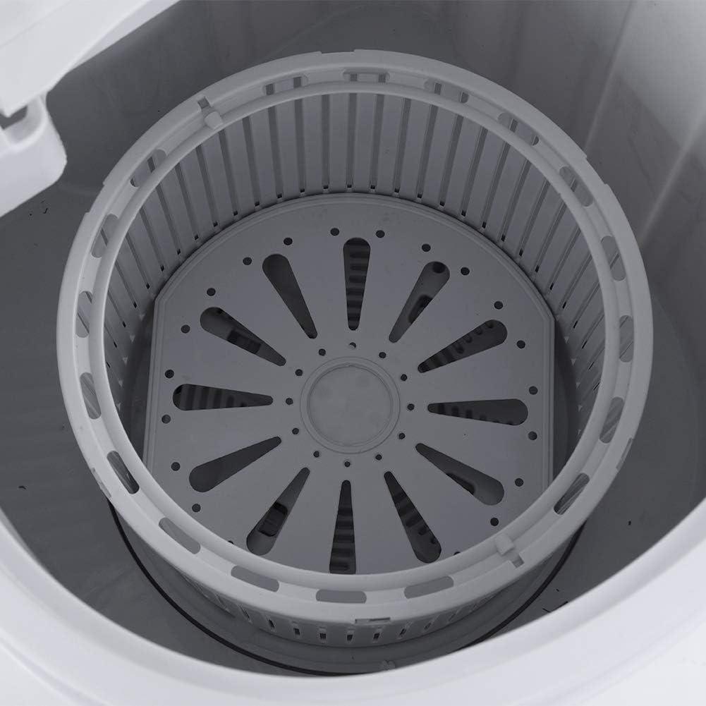 Casa dormitorio Zoternen Lavatrice Elettrica Portatile Mini Lavatrice Lavatrice Elettrica Compatta Lavanderia Lavanda//Spinner per Appartamento 54 x 35 x 34 cm Hotel