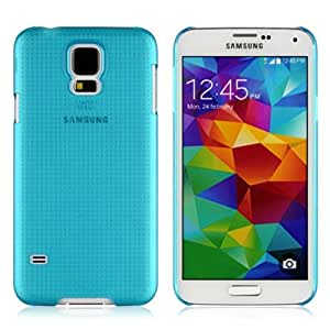 KINGCO For Samsung Galaxy S5 i9600 Mesh Net Design Slim Flexible TPU Clear Case Cover