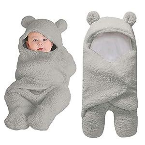 Reasoncool Cute Newborn Baby Soft Cotton Receiving Sleeping Blanket Boy Girl Warm Wrap Swaddle Sleeping Bag Sleep Sack…