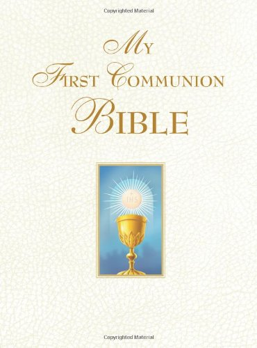 My First Communion Bible (White) ()