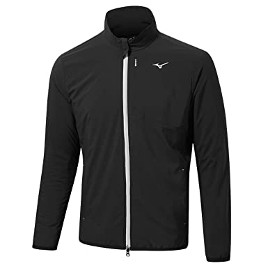 b63b24206a75f Mizuno Men's Move Tech Jacket Track: Amazon.co.uk: Clothing