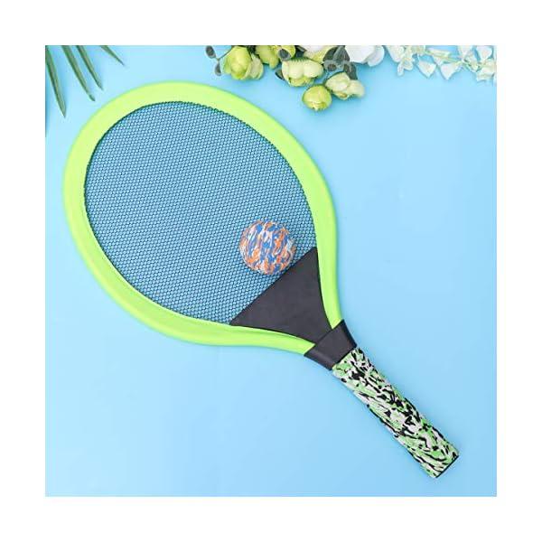 BESPORTBLE Set di Racchette da Tennis Maniglie Resistenti Badminton Racchette da Gioco Giochi da Spiaggia per Bambini… 6 spesavip