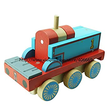 Amazon.com: Thomas Train Tanque de tren de madera 1992 ...