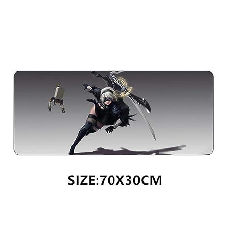 WNKSIOZ mouse pad 70 * 30cm Mouse Pad Nier Automata Anime Sexy ...