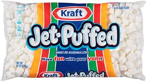 Kraft Jet Puffed Mini Marshmallows, 10 oz (Pack of 3) (5 Pack(10 oz)) by Kraft