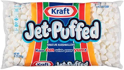 Kraft Jet Puffed Mini Marshmallows, 10 oz (Pack of 3) (5 Pack(10 oz))