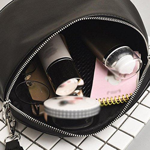 Gucci Leather Messenger Bag - LtrottedJ Fashion Women Pure Color Shell Leather Messenger Shoulder Bag,Chest Bag (A)