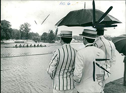 Regatta Henley (Vintage photo of Henley Royal Regatta:the henley scene.)