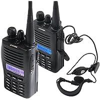 Higoo(tm) Puxing PX-777 400-470MHz UHF Ham 2-way Radio Two Way Radio Walkie Talkie Professional FM Transceiver+Earphone